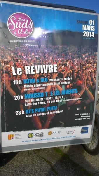 Le Revivre des Suds à Arles, samedi 01 Mars 2014.