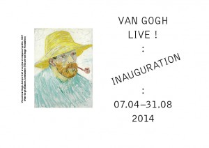 Ouverture Fondation Van Gogh à Arles le 07 Avril 2014