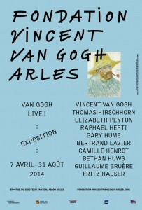 Ouverture de la Fondation Vincent Van Gogh à Arles le 07 Avril 2014