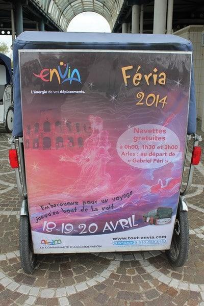 Bus nocturne gratuit ENVIA féria Pâques 2014