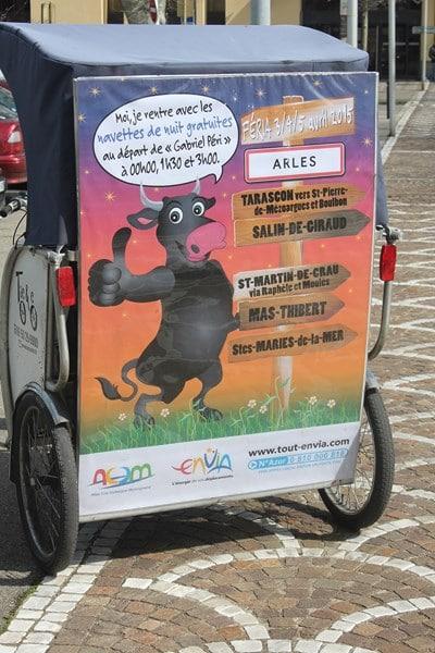 Féria de pâques 2015 Arles, bus gratuit avec Envia