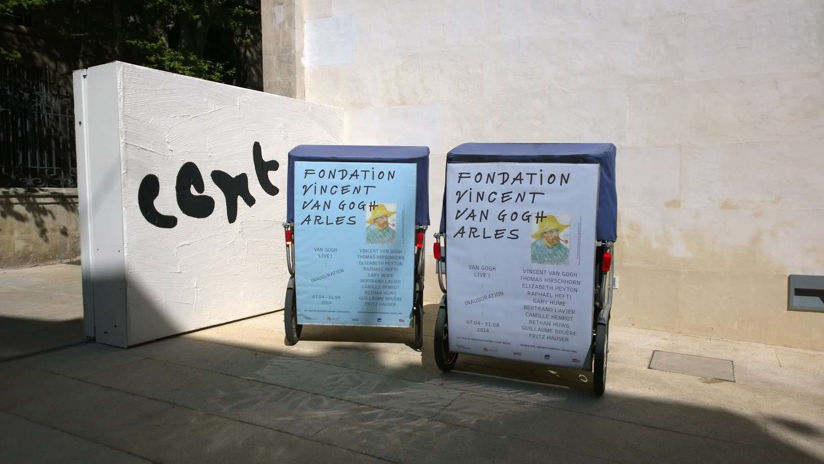 Campagne de communication sur Arles: La Fondation Vincent Van Gogh choisit Taco and Co