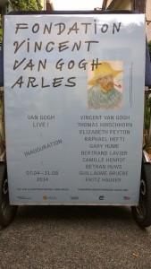 Van Gogh live!! exposition inaugurale de la Fondation Van Gogh du 07 Avril au 31 Août à Arles