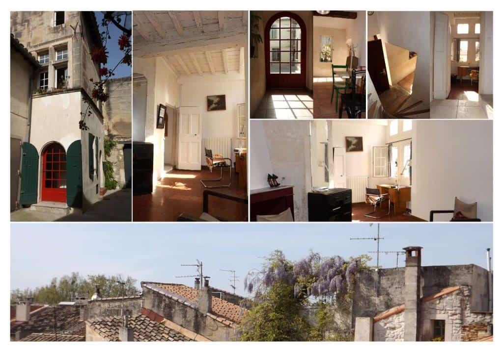 L'Agence Arlésienne vous propose une jolie maison de 80m2 dans le quartier de la Roquette à Arles
