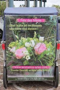 Aromatics, votre fleuriste à Arles au 15 rue de l'hôtel de ville.