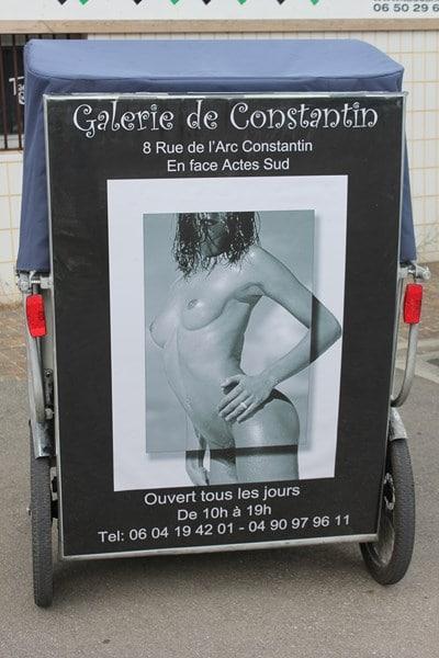 La Galerie de Constantin à Arles, à découvrir pendant le festival Européen de la photo de nu.