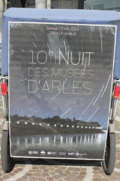 Nuit des musées à Arles le 17 mai 2014