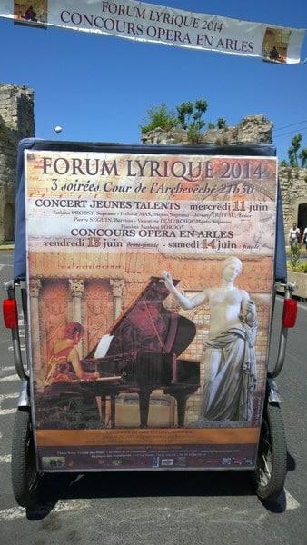 Forum lyrique 2014 Arles