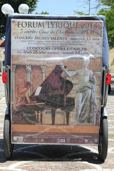 Le Forum lyrique international du 10 au 14 juin 2014 en Arles