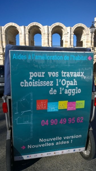 Opération  pour Amélioration Habitat  centre historique Arles