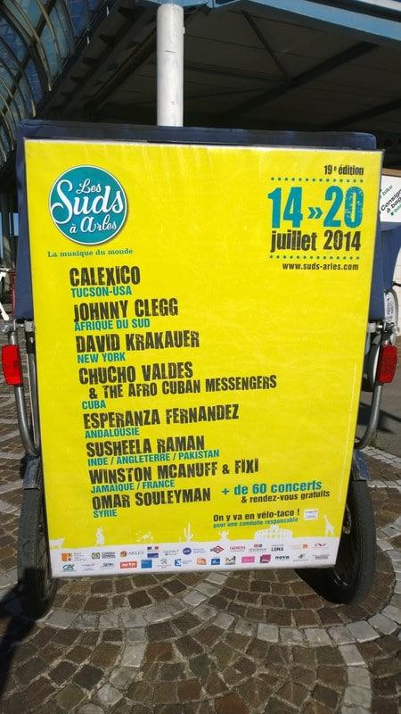 Les Suds à Arles jusqu'au 20 juillet: Ce soir Calexico au Théatre Antique
