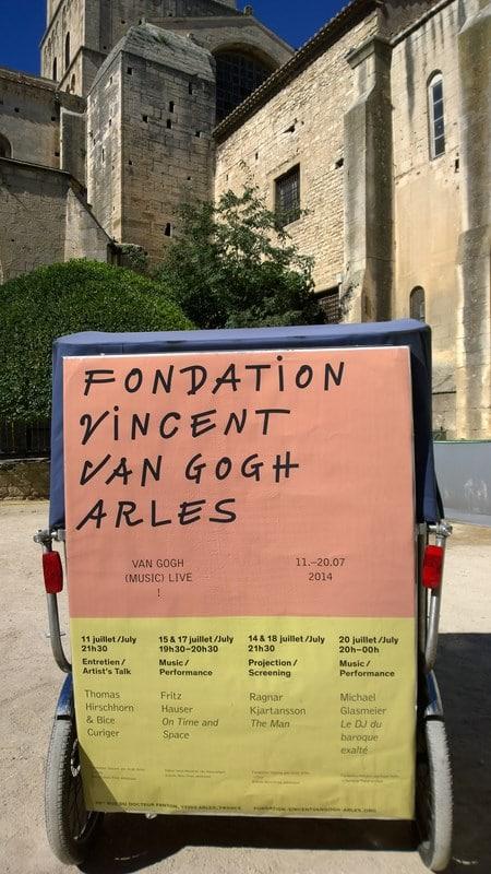 Van Gogh(Music)Live à la fondation Van Gogh jusqu'au 20 juillet 2014
