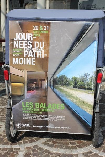 Les journées Européennes du Patrimoine, 20 et 21 septembre 2014 à Arles.