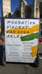 Nouvelle exposition à découvrir à la Fondation Vincent Van Gogh d'Arles jusqu'au 26 Avril 2015