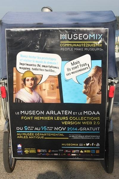 Museomix 7-10 Novembre 2014 à Arles (