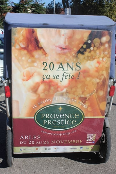 Provence Prestige 2014 à Arles: navette gratuite du salon vers les parkings avec Taco and Co