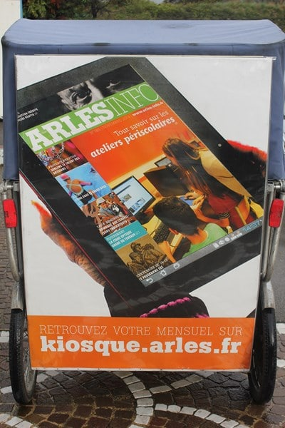Le mensuel Arles Info en numérique sur kiosque.arles.fr