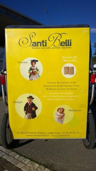 Santi Belli, Santons à Arles