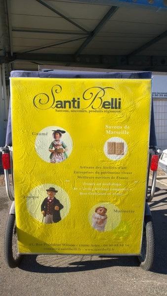 Santi Belli, santons et souvenirs à Arles