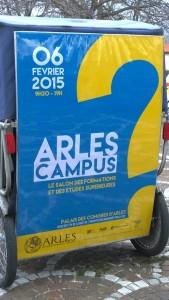 Arles Campus 2015, vendredi 6 février au Palais des congrès d'Arles.