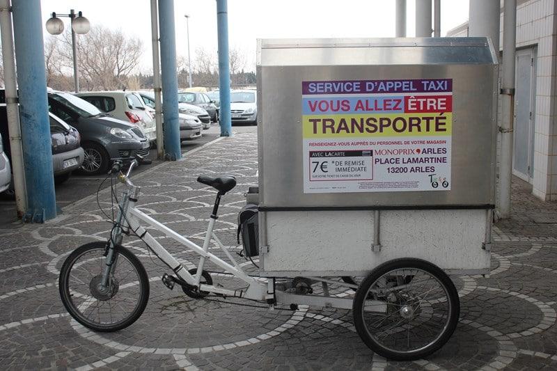 Livraison éco-responsable Monoprix Arles
