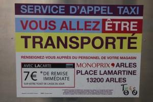 Monoprix Arles: Livraison gratuite et écolo avec Taco and Co
