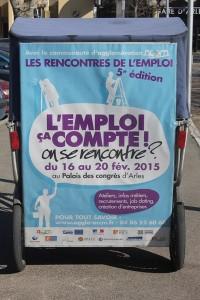 Les Rencontres de l'emploi 2015, du 16 au 20 février, au Palais des congrès d'Arles