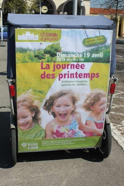 La journée des Printemps 2015 au Château d'Avignon, en Camargue