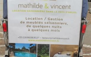 Location et gestion de meublés saisonniers sur Arles avec Mathilde et Vincent