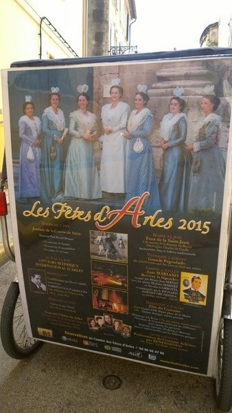 Fêtes d'Arles 2015