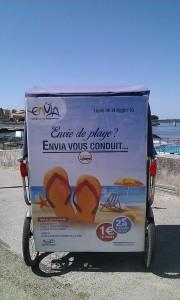 Envia propose des bus à 1 euro pour se rendre aux Saintes maries de la mer ou au Salin de giraud