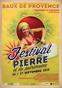 La Fête de la Pierre et du Patrimoine, les 26 et 27 Septembre 2015 au Baux de Provence.