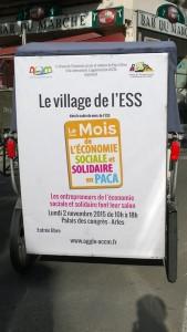 Le salon de l'economie sociale et solidaire le 02 Novembre 2015 au Palais des congrés d'Arles