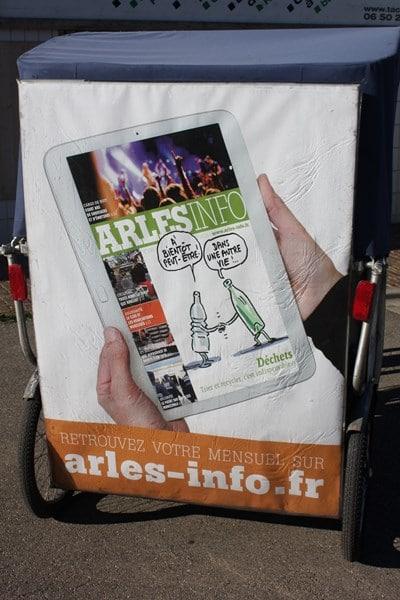 Arles info en version numérique sur kiosque.arles.fr