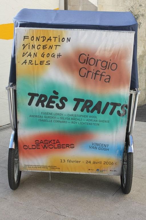 Nouvelle exposition «très traits» à la fondation Vincent Van Gogh d'Arles.