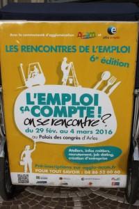 Les Rencontres de l'emploi du 29 février au 04 Mars 2016 au Palais des congrès d'Arles