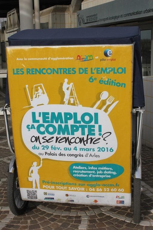 Rencontres de l'emploi 2016 à Arles