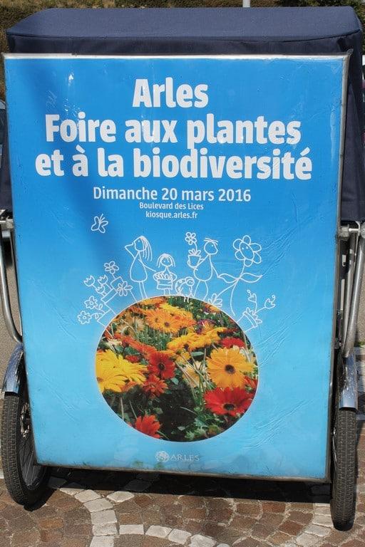 Foire aux plantes et à la biodiversité le 20 Mars 2016 à Arles