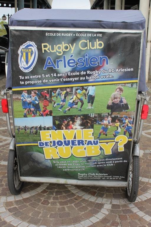 Inscription à l'école de rugby du rugby club Arlésien pour la rentrée 2016