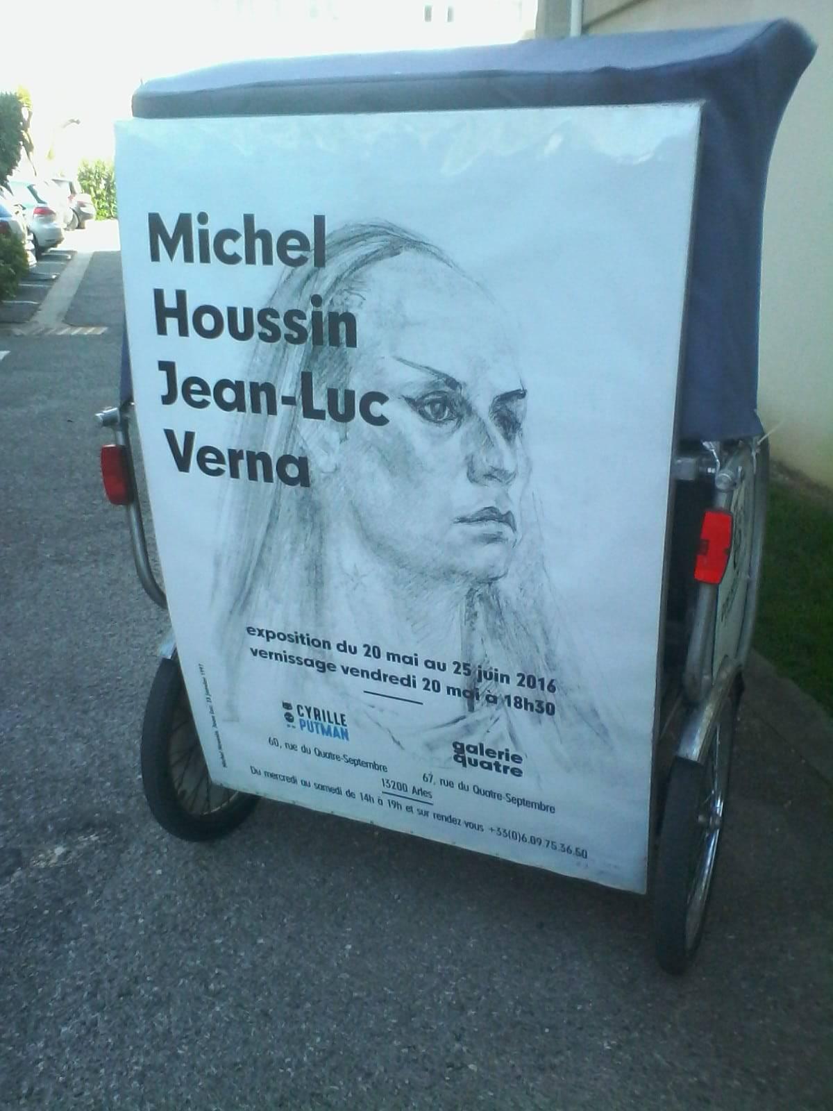 Michel Houssin et Jean Luc Verna du 20 mai au 25 juin à Arles