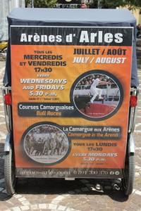 Courses camarguaises en Août dans les Arènes d'Arles