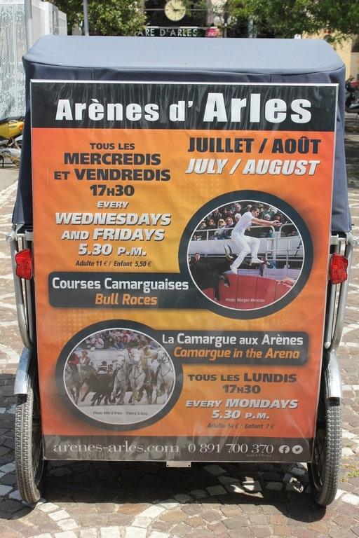 La Camargue dans les arênes d'Arles (1) (Copier)