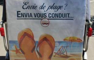 Envia vous emmène à la plage depuis Arles pour 1 euro