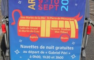 Féria du Riz 2016 à Arles du 9 au 11 septembre: Navettes nocturnes gratuites avec Envia