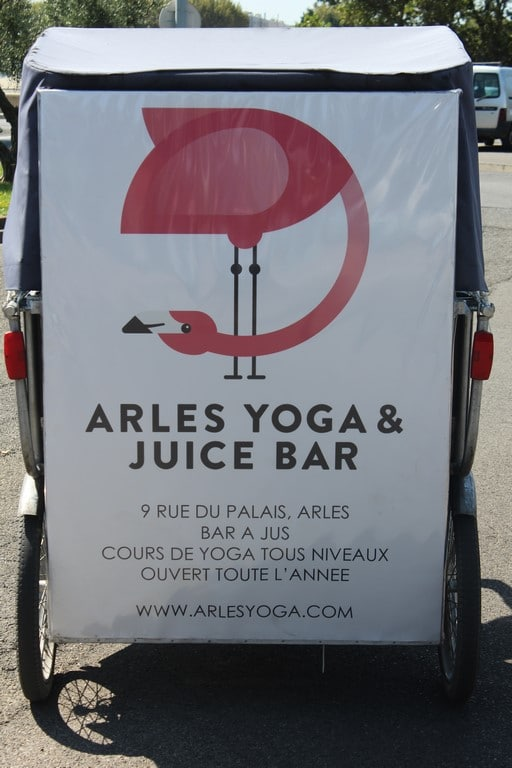 Yoga et juice bar à Arles (Copier)