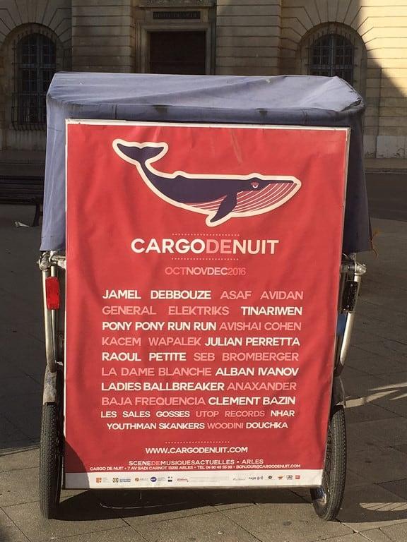 Le Cargo de nuit à Arles: Programme 2016