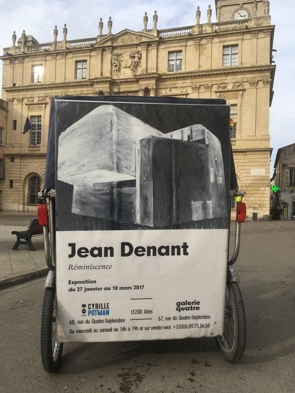 Très belle exposition de Jean Denant, Réminiscence, à la galerie Cyrille Putman à Arles