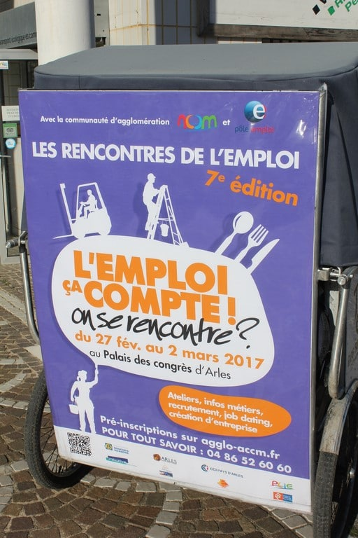 Les Rencontres de l'emploi au Palais des congrès d'Arles du 27 février au 2 Mars 2017