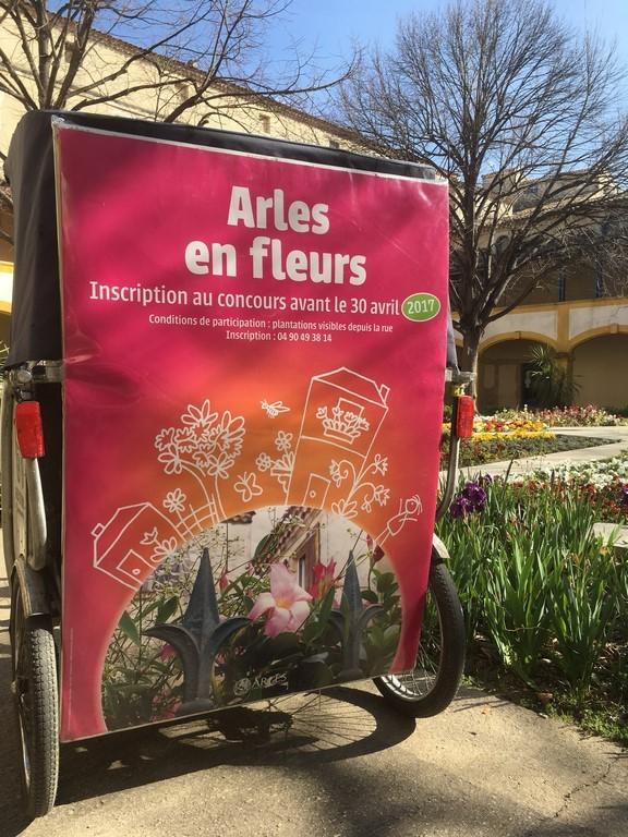 Arles en fleurs (Copier)