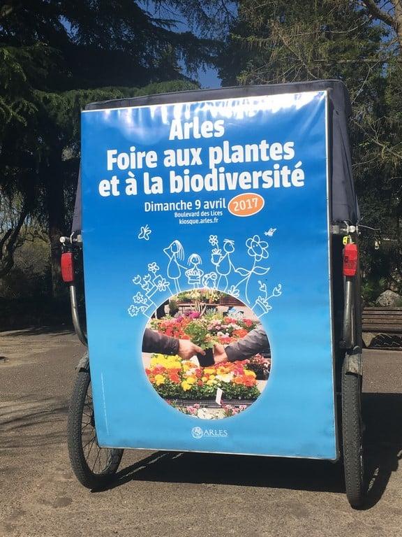 La Foire aux plantes à Arles le 9 Avril 2017
